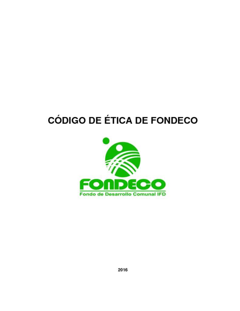 thumbnail of Código Ética Fondeco v02-feb2016