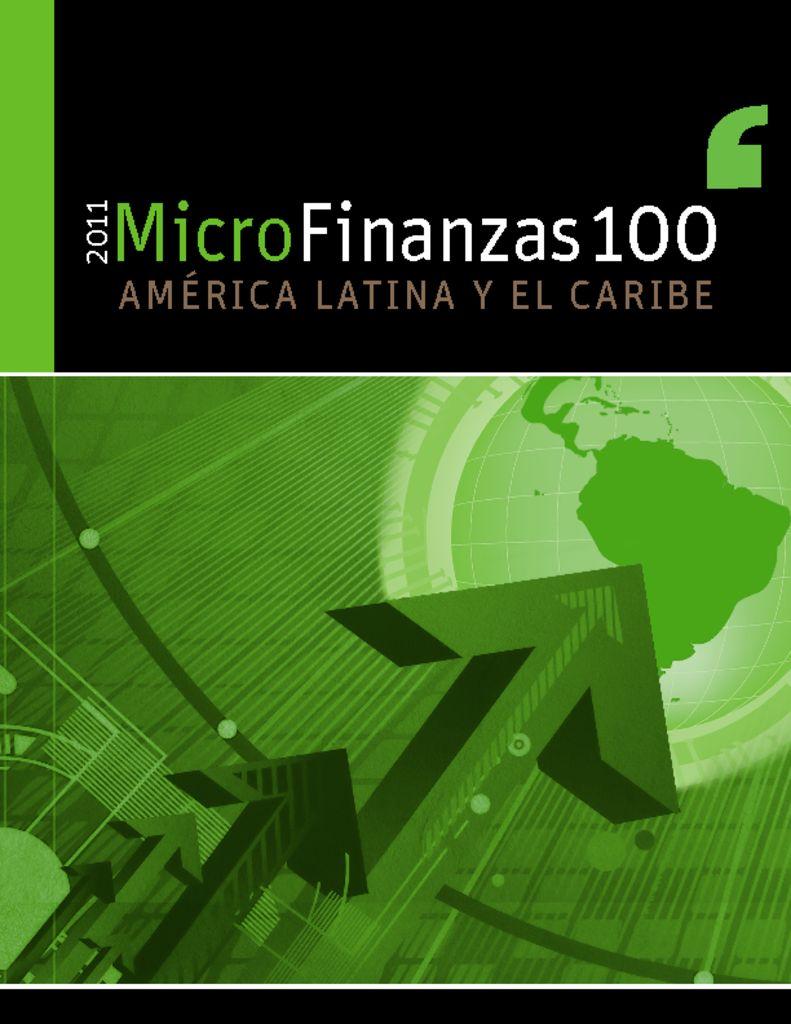 thumbnail of Microfinanzas Américas 2011
