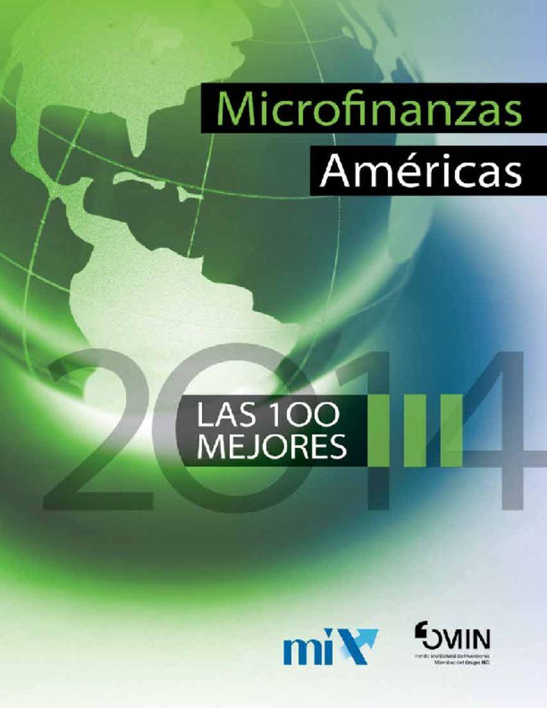 thumbnail of microfinanzas-americas-top100-2014